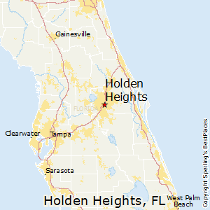 Holden_Heights,Florida Map