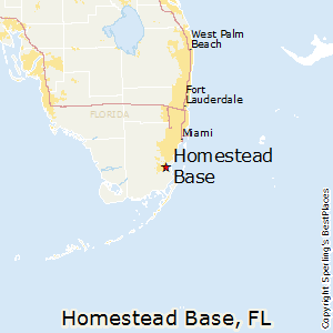 Map Of Homestead Florida.Comparison Homestead Base Florida Homestead Florida