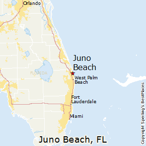 Comparison Juno Beach Florida Boca Raton Florida