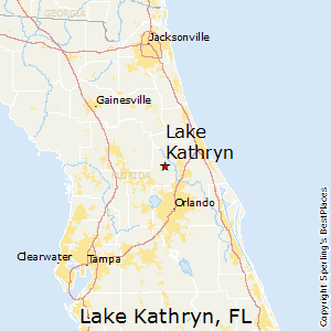 Lake_Kathryn,Florida Map