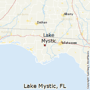 Lake_Mystic,Florida Map