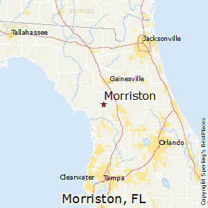 Florida Map Image.Best Places To Live In Morriston Florida