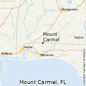Mount_Carmel,Florida Map