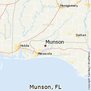 Munson,Florida Map