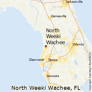 Best Places To Live In North Weeki Wachee Florida