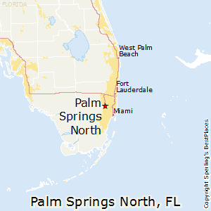 Palm_Springs_North,Florida Map