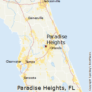 Paradise_Heights,Florida Map