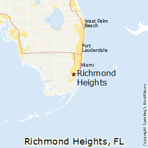 Richmond_Heights,Florida Map