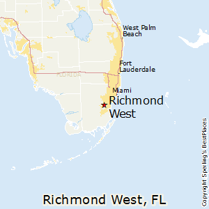 Richmond_West,Florida Map