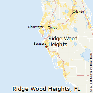 Ridge_Wood_Heights,Florida Map