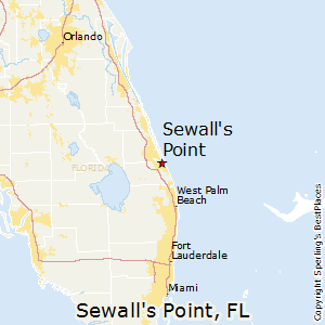 Sewall's_Point,Florida Map