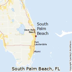Palm Beach Florida Map.South Palm Beach Florida Cost Of Living