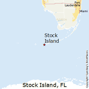 Stock_Island,Florida Map