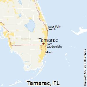 Sunrise Florida Map.Comparison Tamarac Florida Sunrise Florida