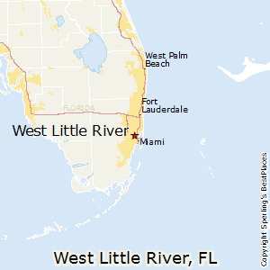 West_Little_River,Florida Map