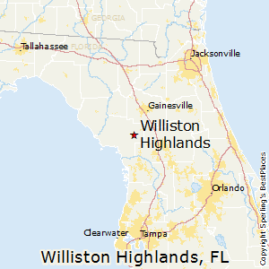 Williston Florida Map.Best Places To Live In Williston Highlands Florida