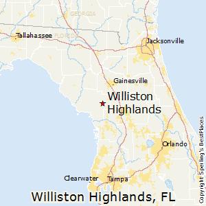 Comparison Williston Highlands Florida Starke Florida