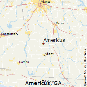 Americus Ga Zip Code Map.Best Places To Live In Americus Georgia