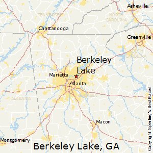 Berkeley_Lake,Georgia Map