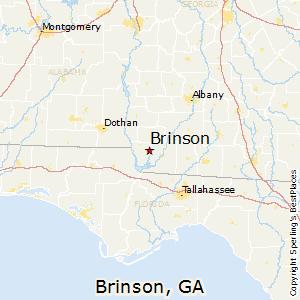 Comparison: Brinson, Georgia   Dothan, Alabama