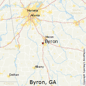 Best Places to Live in Byron, Georgia
