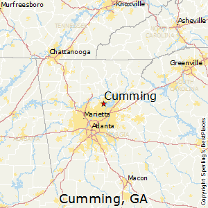 Best Places To Live In Cumming Georgia