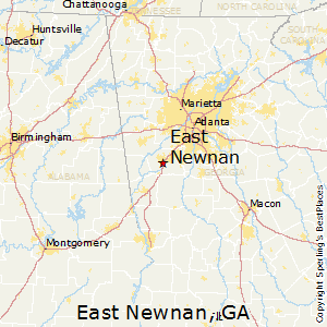 East_Newnan,Georgia Map