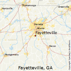 Peachtree Georgia Map.Comparison Peachtree Corners Georgia Fayetteville Georgia