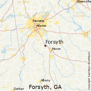 Forsyth Georgia Map.Best Places To Live In Forsyth Georgia