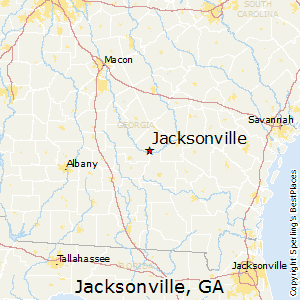 Map Of Jacksonville Georgia.Best Places To Live In Jacksonville Georgia