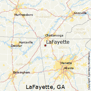Best Places to Live in LaFayette Georgia