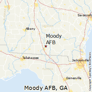 Moody_AFB,Georgia Map
