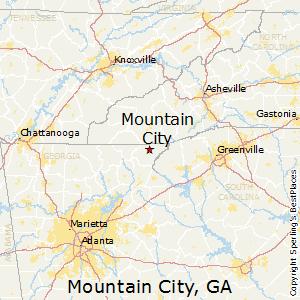 Comparison Mountain City Georgia Ellijay Georgia