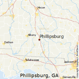 Phillipsburg,Georgia Map