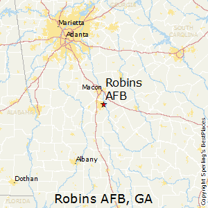Best Places to Live in Robins AFB, Georgia