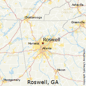Best Places to Live in Roswell, Georgia