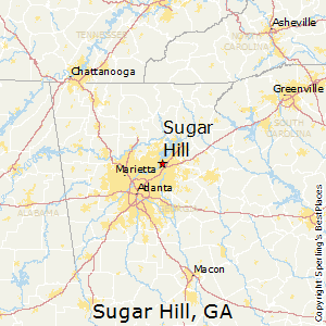 Sugar_Hill,Georgia Map