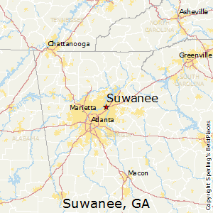 Best Places To Live In Suwanee Georgia