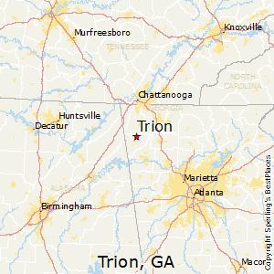 Trion Georgia Climate