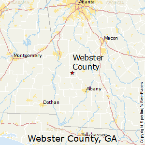 Webster_County,Georgia Map