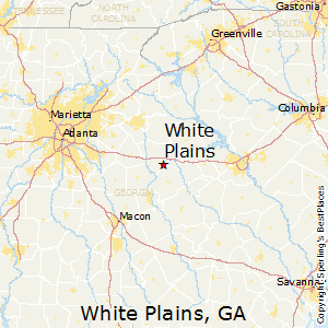 White_Plains,Georgia Map