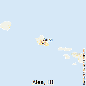 Aiea,Hawaii Map