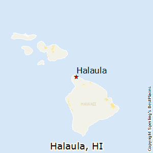 Halaula,Hawaii Map