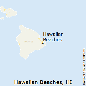 Hawaiian_Beaches,Hawaii Map