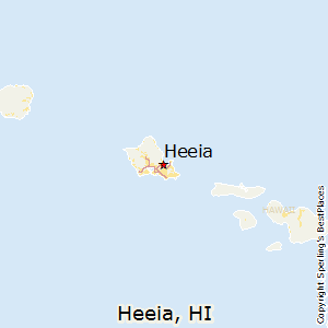 Heeia,Hawaii Map