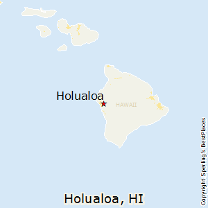 Holualoa,Hawaii Map
