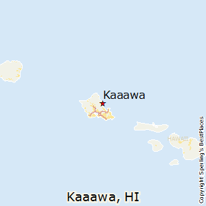 Kaaawa,Hawaii Map