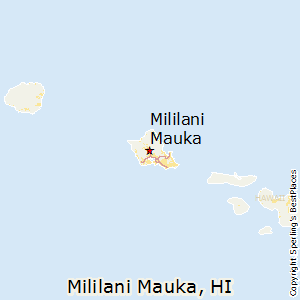Best Places to Live in Mililani Mauka Hawaii