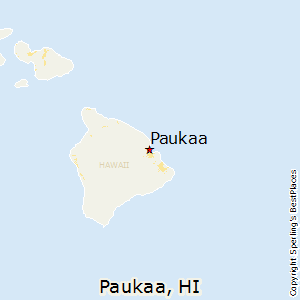 Paukaa,Hawaii Map
