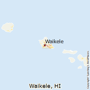 Waikele,Hawaii Map